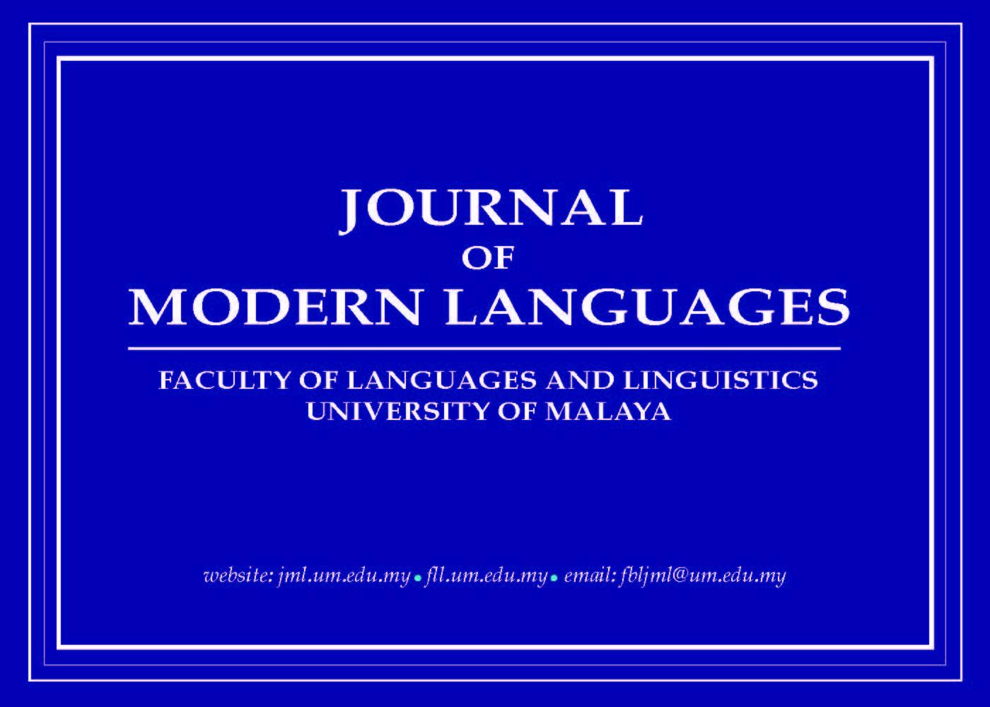 Journal of Modern Languages